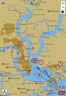 Charleston Sc Nautical Charts Charleston Harbor Marine Chart Us11524 P215 Nautical