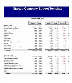 Company Budget Example 9 Sample Company Budget Templates Word Pdf Excel