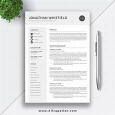 Editable Resume Template 2020 Editable Resume Template Download Job Cv Template