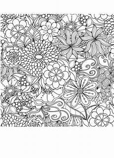 Blumen Ausmalbilder Erwachsene Blumen Malerung Anti Stress Erwachsene Ausmalen