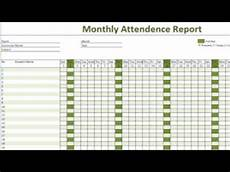 Attendance Sheet In Excel How To Create Daily Attendance Sheet In Excel Youtube