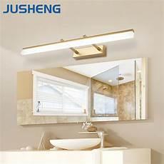 Bathroom Over Mirror Led Lights Jusheng Modern Bathroom Led Wall Lamp Lights With