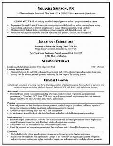 New Grad Rn Resumes Nursing Graduates Nursing Resume Template Nursing