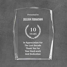 Appreciation Award Personalized Prestigious Crystal Appreciation Award
