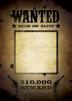 Design Your Own Poster Free Most Wanted Poster Template Wanted Poster Template