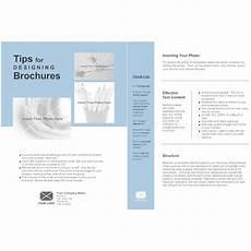 Single Page Brochure Template Single Page Brochure