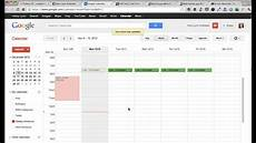 Create A Schedule How To Create A Weekly Schedule In Google Calendar From