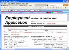How To Fill Out Job Application How To Fill Job Application Form Easily Verypdf
