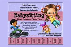 Babysitting Pamphlets 13 Fabulous Psd Baby Sitting Flyer Templates In Word Psd