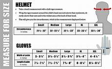 Skydiving Helmet Size Chart Helmet Size Chart For Dual Sport Helmets From