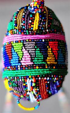 beadwork african africa bringing home
