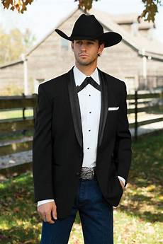 Tie Black The Western Tuxedo All Gusssied Up The Black Tie Blog