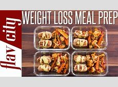Healthy Meal Prepping For Weight Loss   Tasty Recipes For