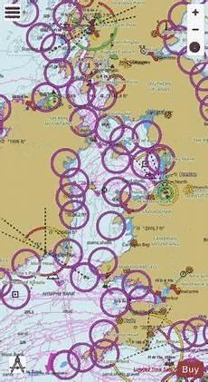 Sea Charts Ireland Irish Sea With Saint George S Channel And North Channel