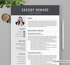 Cv Template Uk 2020 2020 Professional Resume Template For Ms Word Cv Template