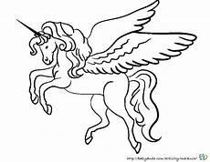 Malvorlage Pferd Einhorn Zauberhafte Einh 246 Rner Ausmalen Ausmalbild Einhorn
