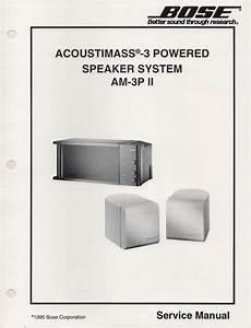 Bose 2 2 Stereo Everywhere Speaker Service Manual