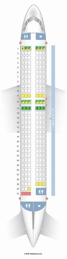Airbus A320 214 Seating Chart Seatguru Seat Map Easyjet Airbus A320 320