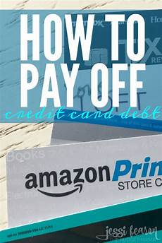 How To Pay Off Credit Card How To Pay Off Credit Card Debt Fearon