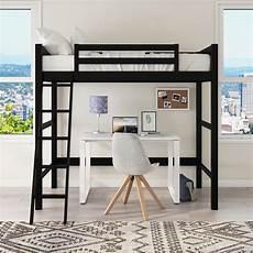 bunk loft bed desk with ladder bedroom