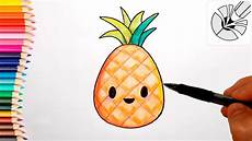Cute Drawlings Cute Drawings How To Draw A Cute Pineapple Draw And