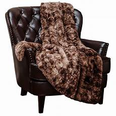 chanasya faux fur bed blanket soft fuzzy light