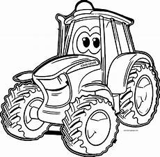 Malvorlagen Traktor Johnny Deere Tractor Coloring Pages Wecoloringpage