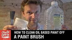 How To White Paint How To Clean Paint Brushes With All White Spirit