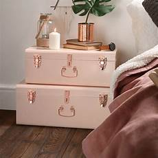 beautify blush pink vintage style steel metal storage