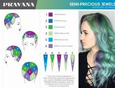 Pravana Hair Color Chart Pravana Semi Precious Jewels Hair Color Chart Pravana