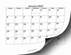 Calendar 2020 Office 2020 Twelve Month Calendar Openoffice Template