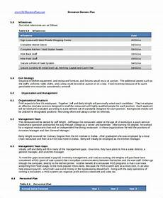 Free Business Plan Templates For Word Business Plan Template In Word 15 Free Sample Example