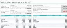 Excel Monthly Expense Template Expense Tracking Template Tracking Expenses