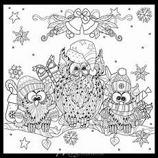 Ausmalbilder Eule Weihnachten Caroling Owls Owl Coloring Pages Coloring Pages