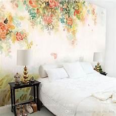 Flower Wallpaper In Bedroom by Photo Wallpaper Flower Wall Murals 3d Custom