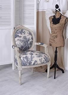 französischer sessel franz 246 sischer sessel barock landhaus toile de jouy stuhl