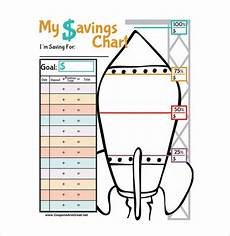 Savings Goal Chart 7 Responsibility Chart Templates Doc Pdf Free