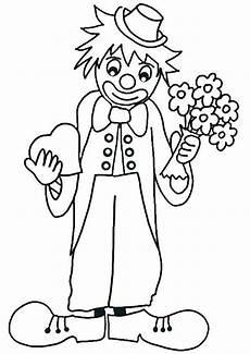 ausmalbilder clown 6 ausmalbilder malvorlagen