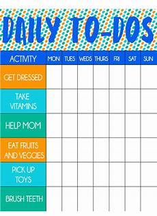 How To Do A Sign Chart Free Printable Toddler Chore Chart And Stickers Play