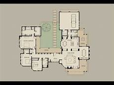 courtyard house plans designs ideas