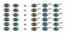 What Will My Baby Be Chart Eye Color Chart What Color Eyes Will My Baby Have