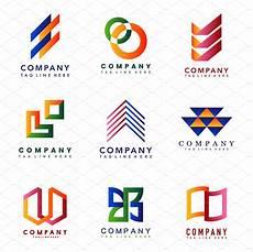 Small Business Logo Design Set Of Company Logo Design Ideas Graphics Creative Market