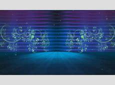 4K Green Florish Arena Dolly Mist 2160p Background video
