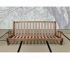 divano futon divano letto in legno artigianale con futon salice