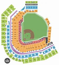 Pittsburgh Pirates Tickets Seating Chart Pnc Park Seating Chart Pittsburgh