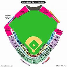 Camelback Seating Chart Camelback Ranch Seating Chart Seating Charts Amp Tickets