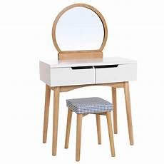 songmics dressing table set with mirror 2 large