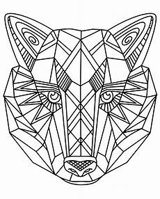 Coloring Geometric Pages Geometric Animal Coloring Pages At Getdrawings Free