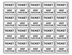 Print Tickets Free Free Printable Raffle Tickets Free Printable Raffle