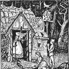 h 228 nsel und gretel illustrationen grimm bilder wiki